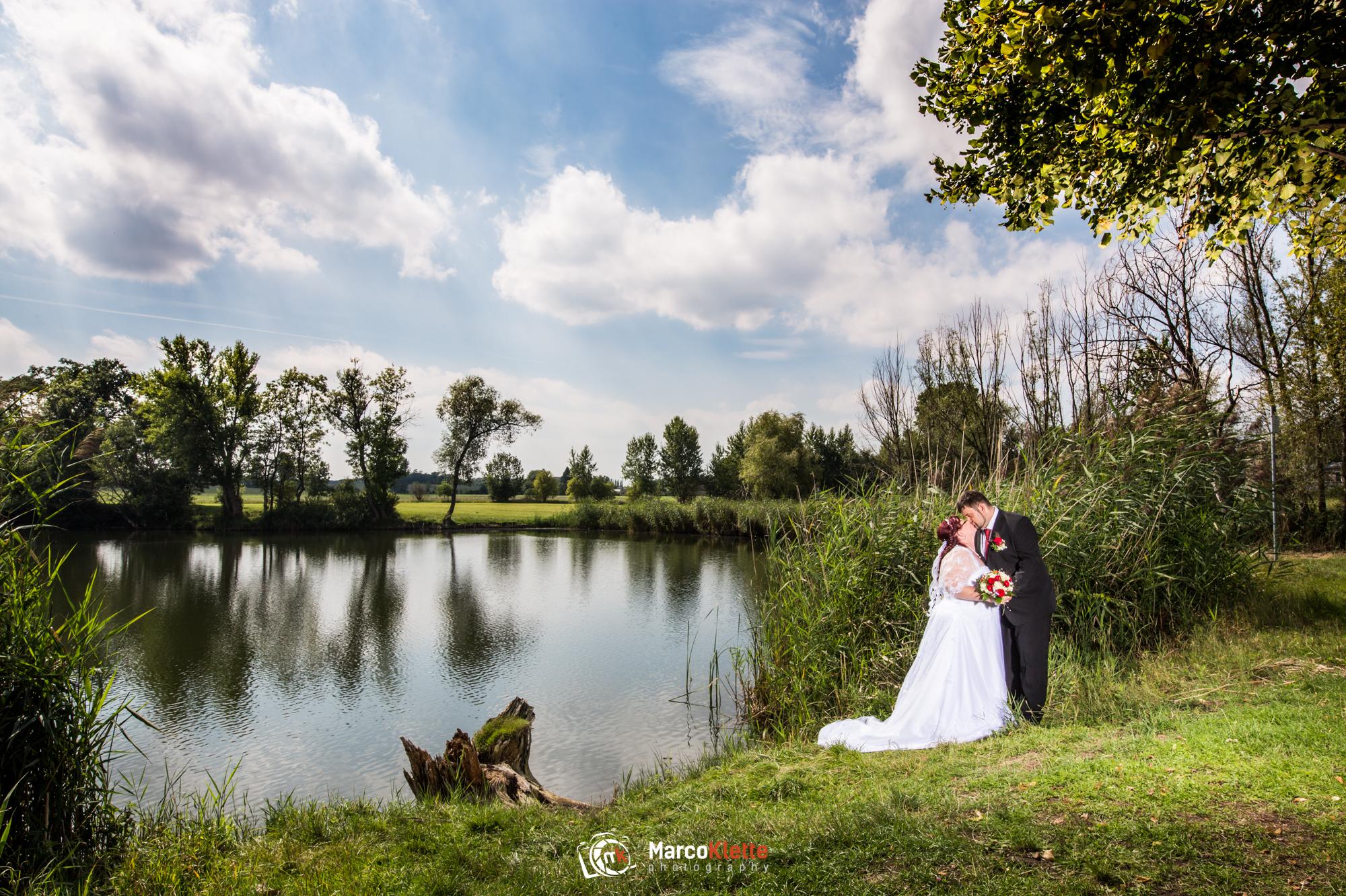 Hochzeitsfotos in Milzau bei Leipzig.